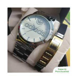 Montre addisas plus bracelet